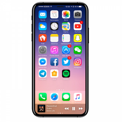 IPHONE X – 256G GRAY – FULLBOX