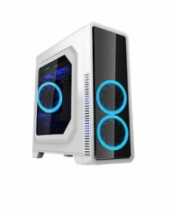 Vỏ máy vi tính GAMEMAX G561 - Mầu Trắng - 3Fan Blue