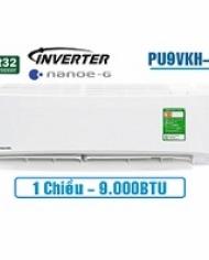 Điều hòa Panasonic 1 chiều inverter 9000Btu PU9VKH-8